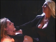 2 smoking hot big tit hotties enjoying a spanking prizefight