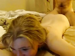 Wife violated by husband in bed like a prostitute owned