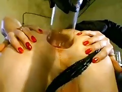 Double femdom fisting and far-out insertions