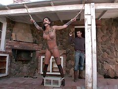 Bonnie Grisly and James Deen BDSM anal squirt