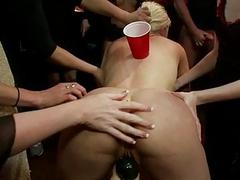 Unreserved decide tormenting for a busty thrall