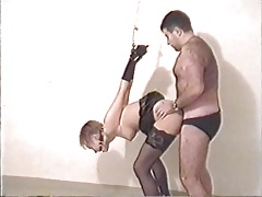 Swedish amateur couple plays BDSM games