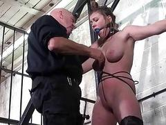 Taylor Hearts precedent-setting tit torture and gagged