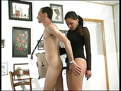 Brunette Russian Strapon Lady 3
