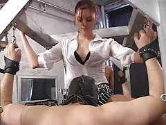 Twosome Mistress in Dungeon