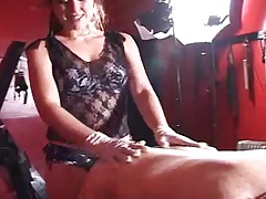 Tattoo Mistress in Dungeon