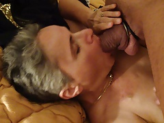 duteous housewife sucking stranger cock