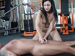 Abbie gives some Cock Torture