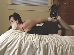 Paige Carried and Hogtied