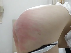 Caning wife to tears