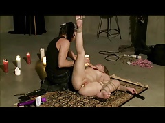Tied Hot Waxed Whipped And Toyed