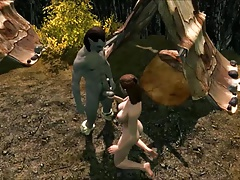 Perils of running away Skyrim slavegirl 20 cut back on