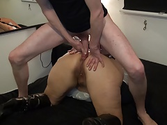 Ms. Cave common again - Hard Anal
