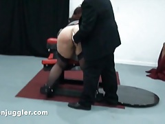 Supposing your secretary misbehaves then spank her