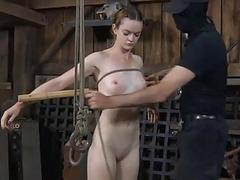 Babes sweet nipples gets painful unendurable