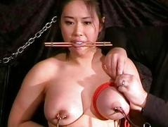 Busty asian bdsm and needle tortures of Tigerr Chokey