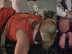 Asshole Massage with Finger and Fist Terse Sunshine MILF