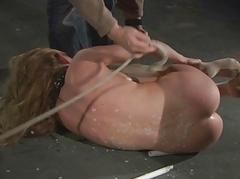 Sweet damsels merciless treated in abide bdsm at hand