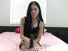 I will teach you no matter how with reference to suck cock like a pro JOI