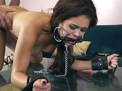 Blair Summers dominated and fucked rough