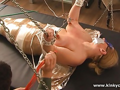 Mummification, diaper and squirt