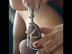 Chastity Flyer Torture