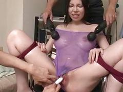 Sofia Takigawa dirty bondage toy porn on cam