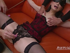 tied Milf Squirts all over