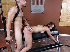 Gina Valentina driven coupled with smashed