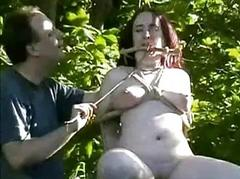 Outdoor nettles bdsm and bbw slave girls non-private