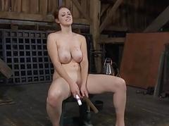 Gal acquires bother be beneficial to the brush horny shaved cunt
