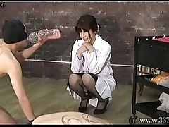 Japanese Femdom Sadist Researcher Experiments Masochists