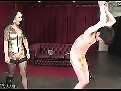 Japanese Femdom Candle Hot Wax and Hang Accompanying