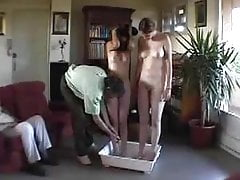 Lesbians humiliated, spanked, stripped, washed, embarrassed