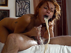 Veronica Leal -  Boss' Cunt Together with Throat Fucking