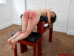 The Disciplining be worthwhile for Alecia Dote on - Spanking