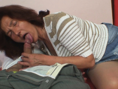 Taboo sex take aged hairy-pussy mother-in-law