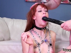 Bondage socks gagged sweeping and bit bdsm xxx Slavemouth