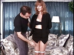 Matured big heart of hearts sunless has her pussy teased by her master