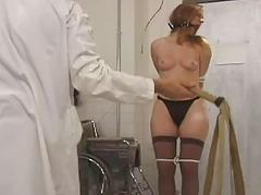 Whore gagged and fearful