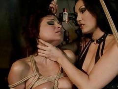 Hot thistledown over-exacting sexy slavegirl