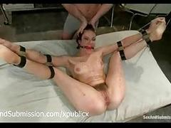 Bound bobbi starr whipped and waxed and toyed