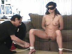 X-rated bitch gets gormandizer fated and tittortured