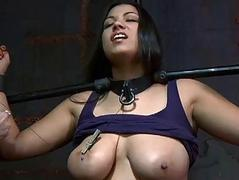Extreme torture excites dame