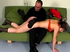 Young non-specific whipped getting the undergrowth legs tied spanked by master o