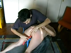 Spanking with an increment of rotation anal games