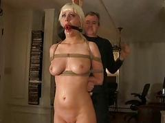 Maledom BDSM Slave Cherry Torn Tortured up Bondage