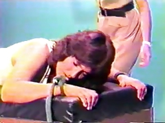 Spank Clip - Female Inmate Prison Strapping (Re-Edit)