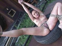 Mandy In the first place fire punishing Kathia Nobili