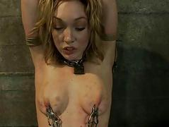 Tough dame in the matter of hot natural body